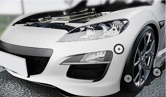 자동차 범퍼 설명 사진