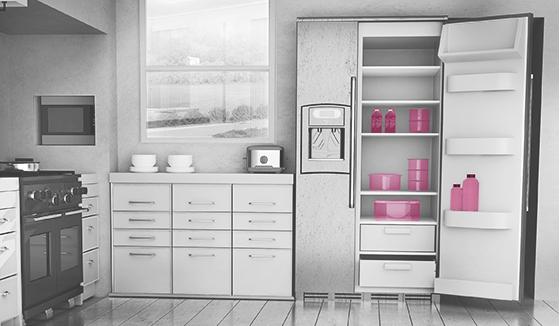 냉장고용품 설명 사진