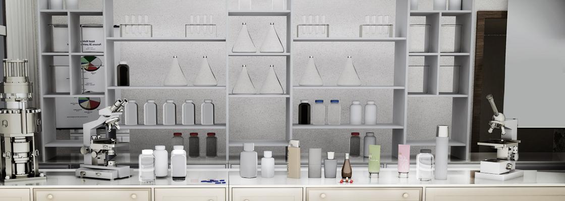 제약 및 화장품 이미지